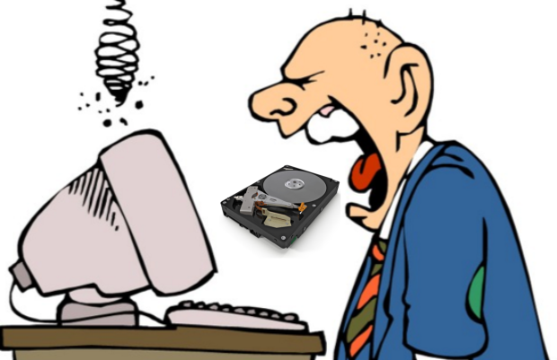 Hard Disk Crashes Every 15 Minutes