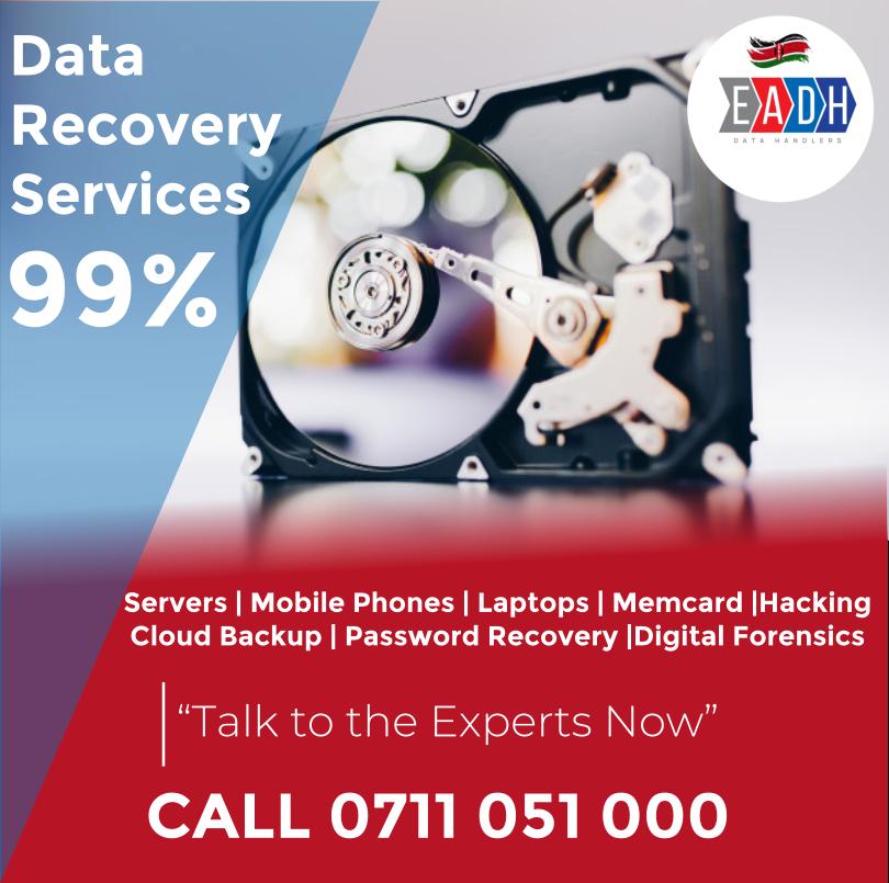 Data Recovery Nairobi, Kenya Service