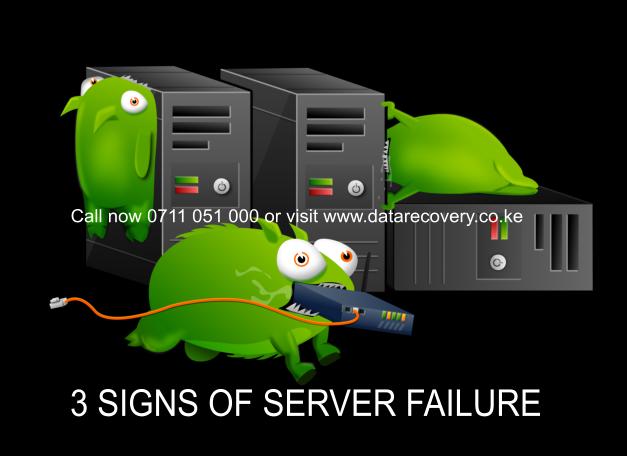 Server recovery in Kenya